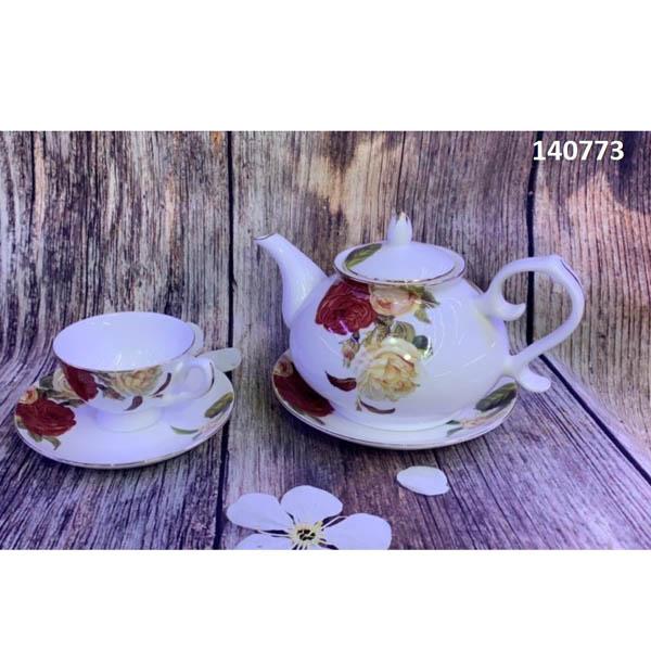 Bộ tách trà sứ xương 140773 14pcs