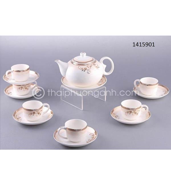 Bộ tách trà sứ xương 1415901 14pcs