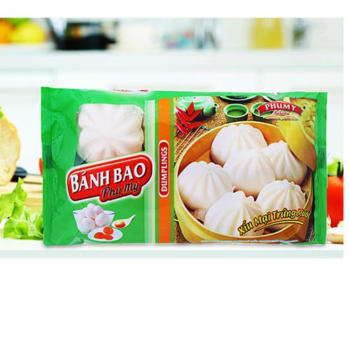 Bánh bao Phú Mỹ Xíu mại trứng muối 300g