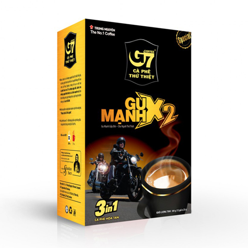 CAFE G7 Gu mạnh 3in1 thứ thiệt 250g