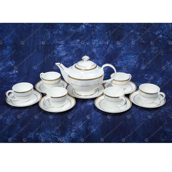 Bộ tách trà sứ xương 149405 14pcs