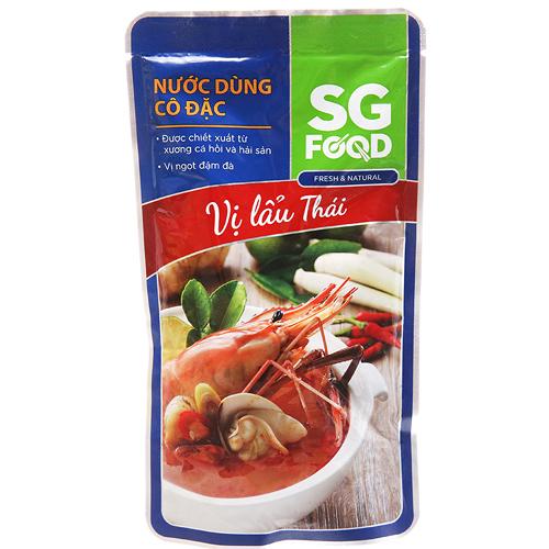 Nước dùng cô đặc vị lẩu thái SG Food 150g