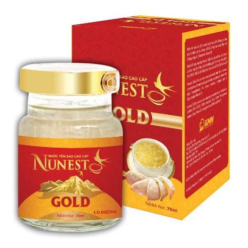 Nước yến sào Nunest Gold cho người lớn 70ml