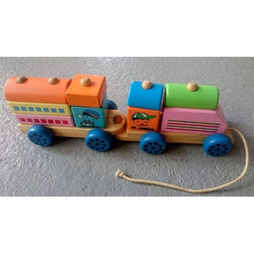 Xe lửa kéo 2 toa NH20300