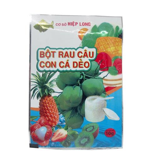 Bột rau câu con cá dẻo 10g