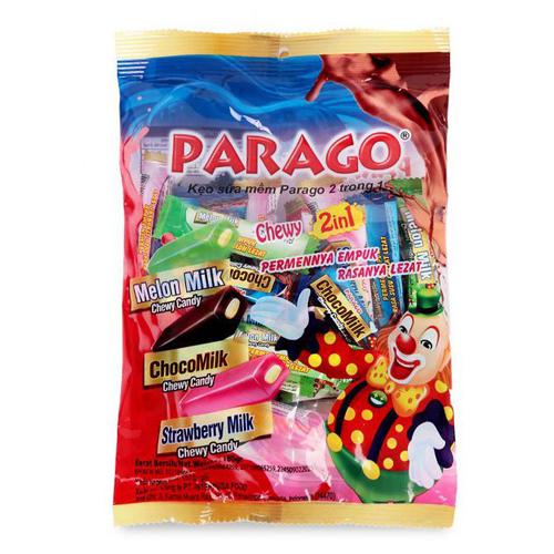 Kẹo sữa mềm Parago 2in1 250g