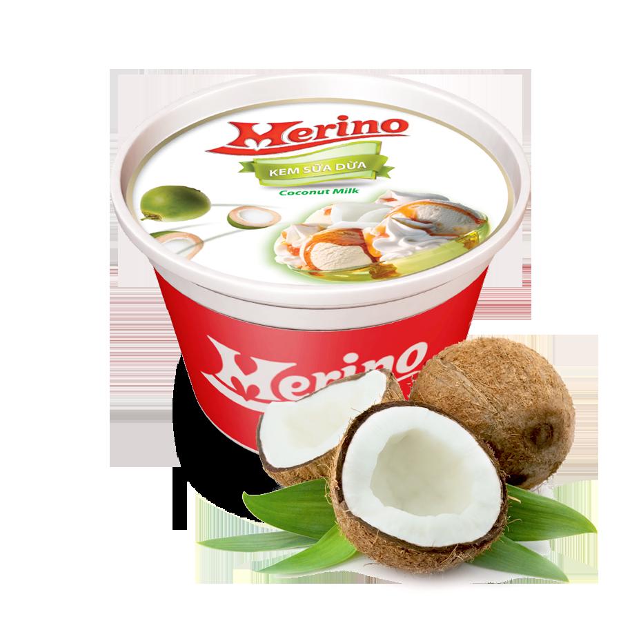 Kem ly merino Sữa Dừa