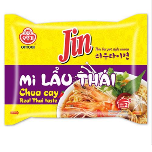 Mì Jin lẩu thái chua cay Ottogi 115g
