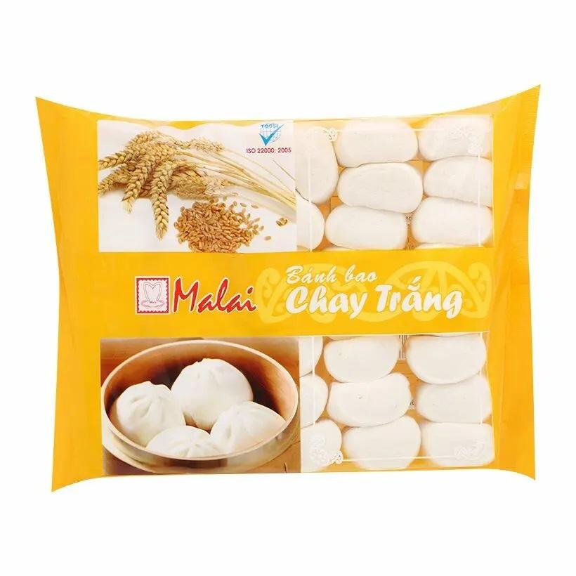 Bánh bao Malai chay trắng 600g