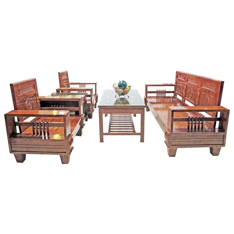Bộ Salon gỗ Sồi 204SLG02