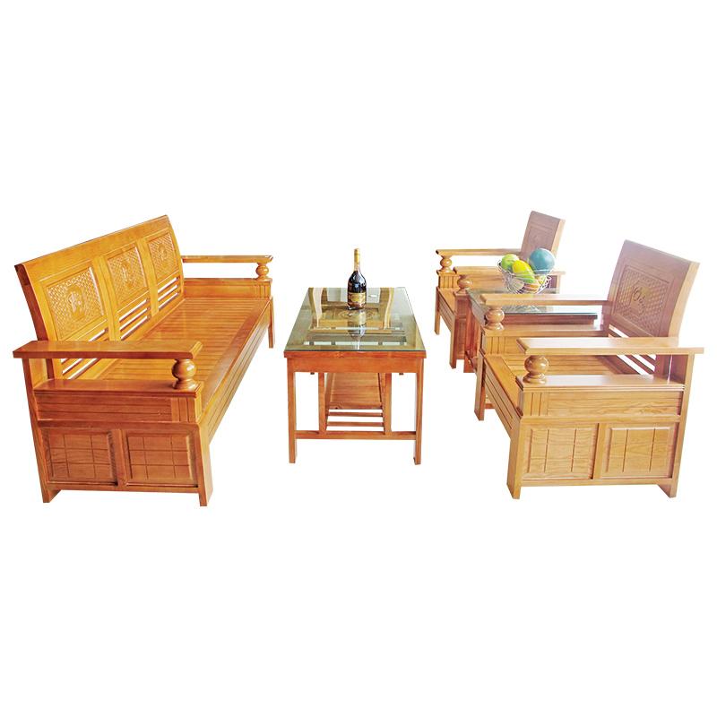 Bộ Salon gỗ Sồi 204SLG05