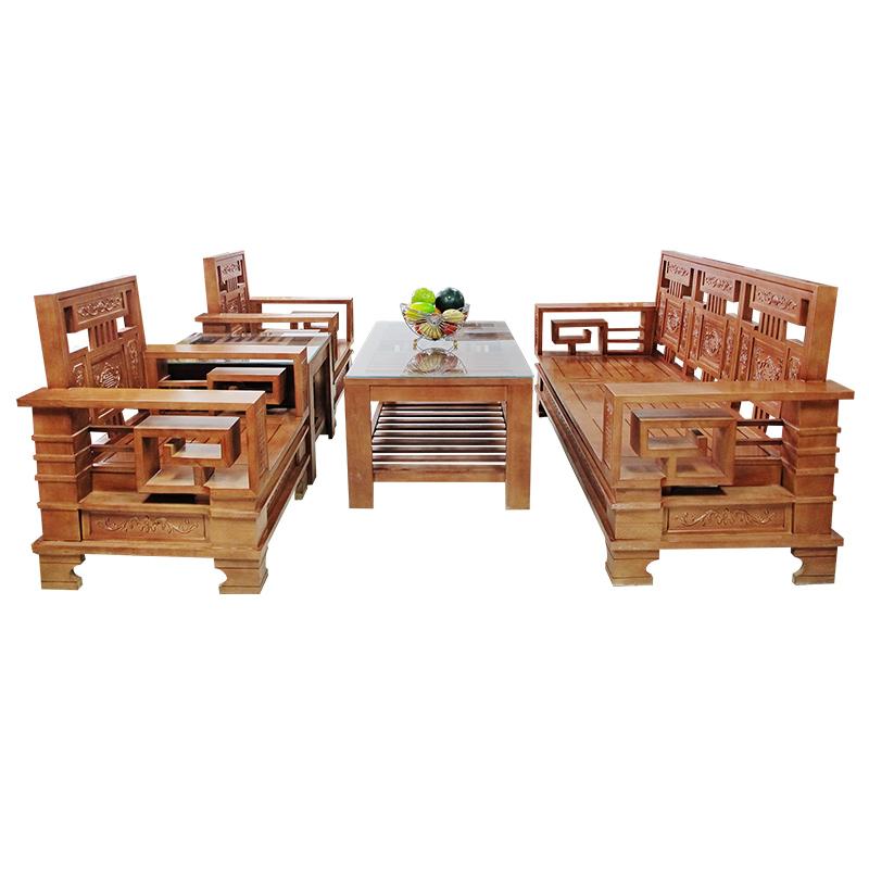 Bộ Salon gỗ Sồi 206SLG02
