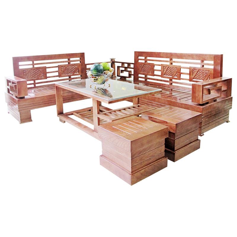 Bộ Salon gỗ Sồi 206SLG05