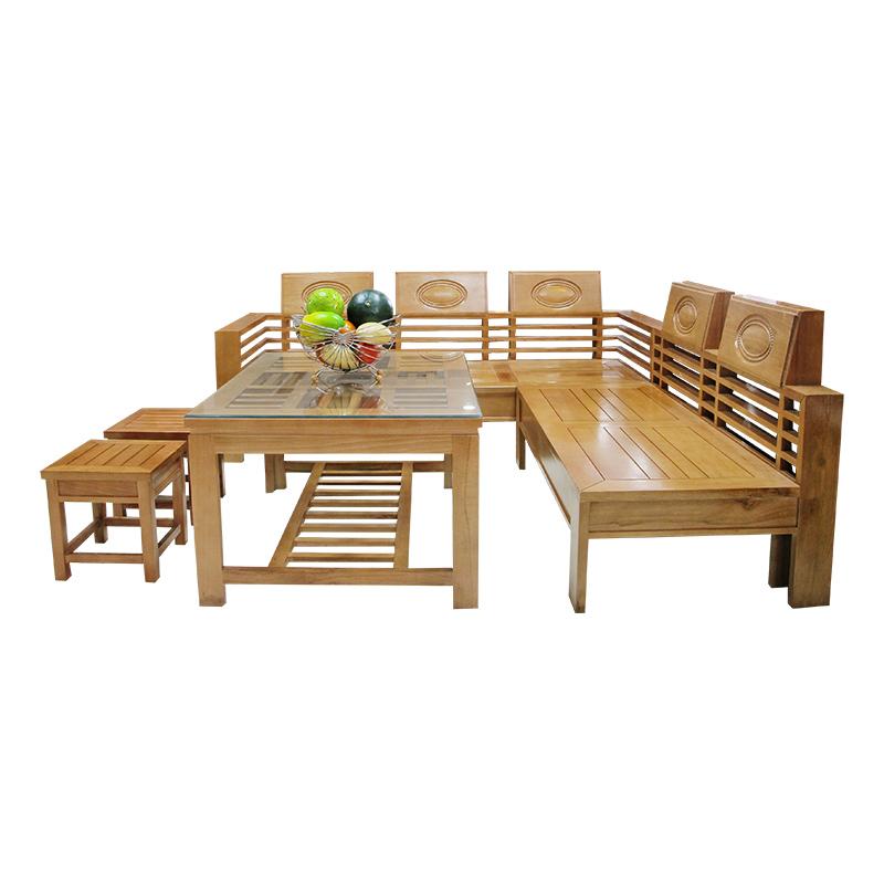 Bộ Salon gỗ Sồi 206SLG06