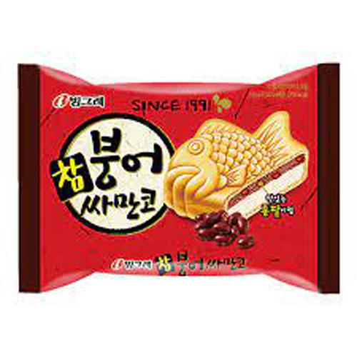 Kem bánh cá Hàn quốc vị đậu đỏ 150ml