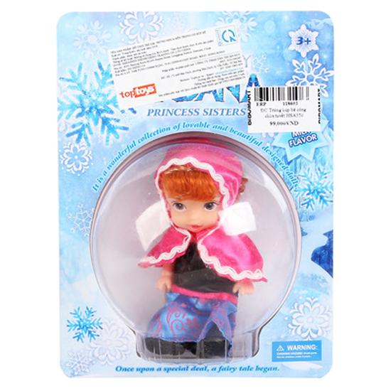 Đồ chơi trứng búp bê công chúa tuyết HSA339