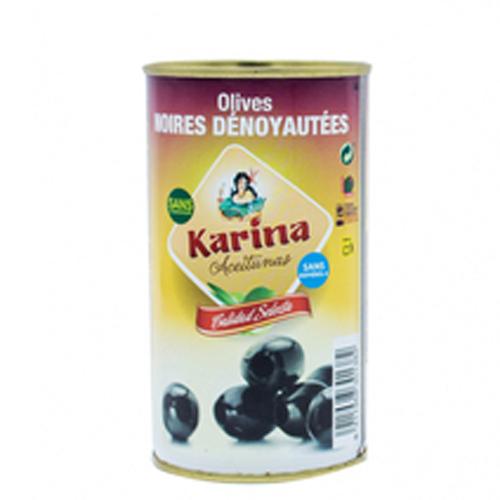 Trái olive đen tách hạt Karina 350g/150g
