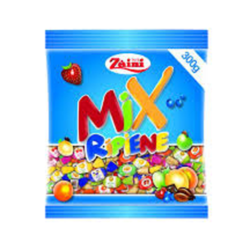 Kẹo hoa quả tổng hợp Zaini Mix Ripiene 300g