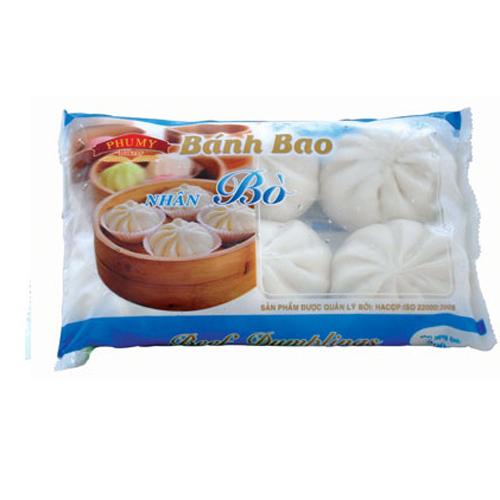 Bánh bao Phú Mỹ nhân Bò 300g