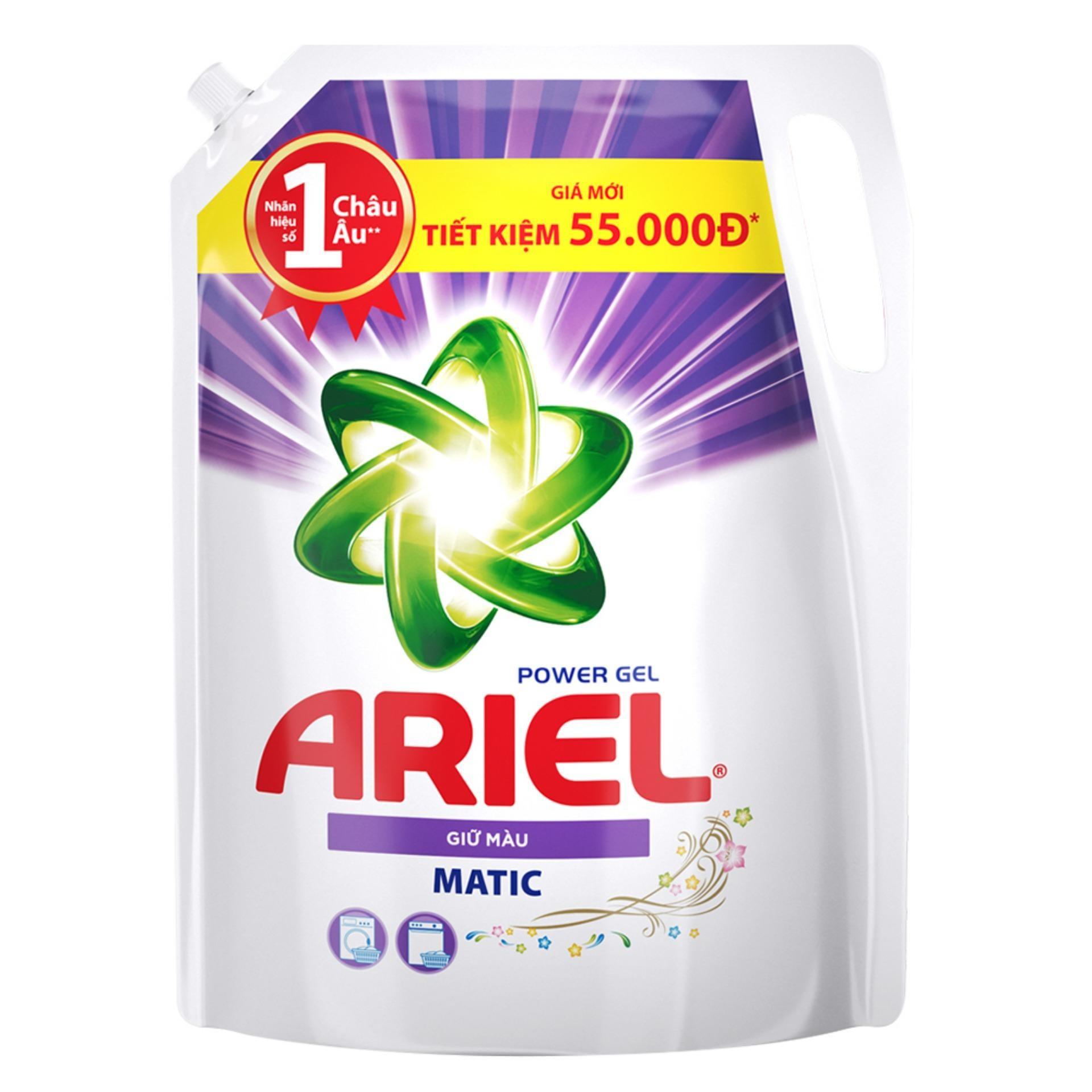 Nước giặt  Ariel giữ màu túi 2 lít