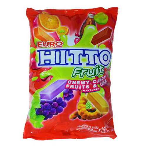 Kẹo Hitto trái cây tổng hợp 280g