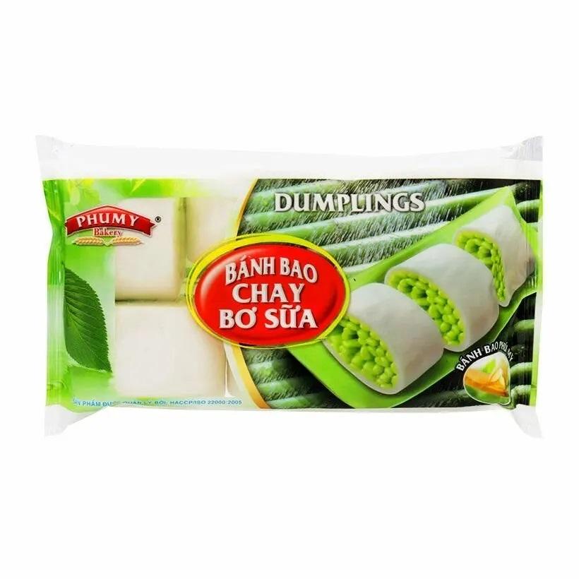 Bánh bao Phú Mỹ Chay bơ sữa 270g