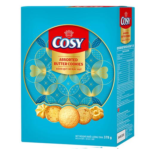 Bánh quy rắc hạt Cosy HG 378g