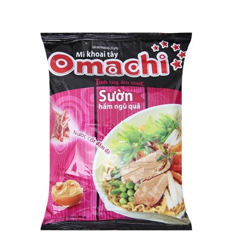 Mì khoai tây Omachi sườn ngũ quả 80g