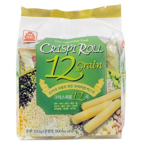 Bánh 12 loại Đậu vị tự nhiên 180g