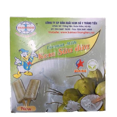 Kem Tràng Tiền sữa dừa 10c / hộp