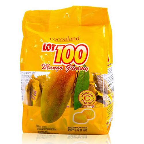 Kẹo lot 100 loại 150g vị xoài