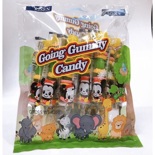 Kẹo dẻo xiên Going Gummmy Risen 420g