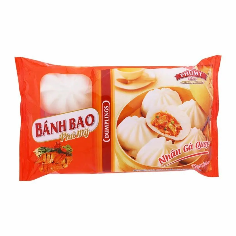 Bánh bao Phú Mỹ nhân Gà quay 300g