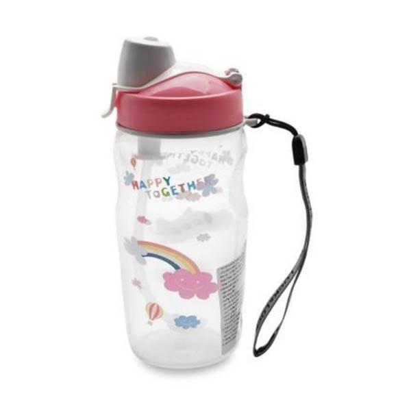 Bình nước trẻ em có ống hút 350ml HPP726TSP