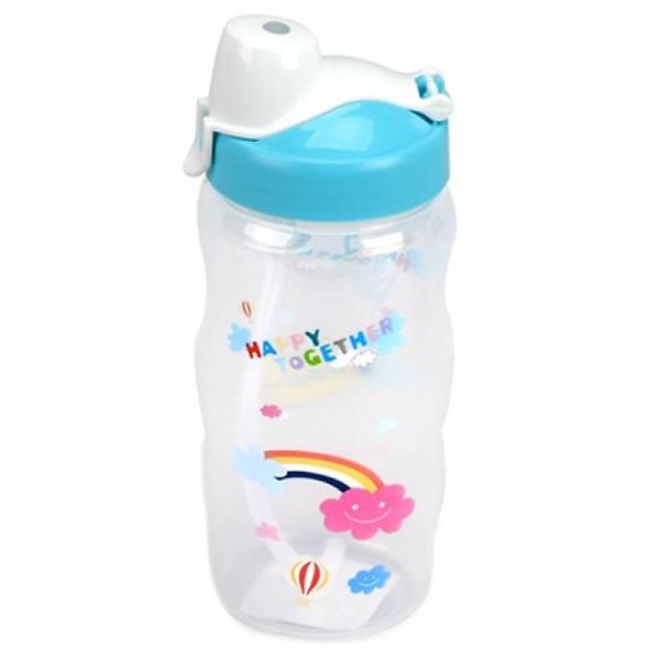 Bình nước trẻ em có ống hút 350ml HPP726TB