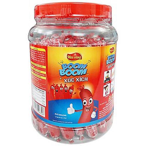 Xúc xích Vissan tiệt trùng Boom Boom 1.1kg