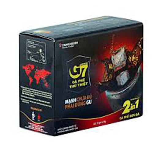Cafe G7 hòa tan 2 trong 1 (16gx15 gói)