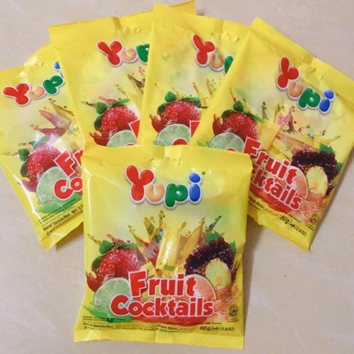Kẹo dẻo Yupi trái cây Cocltails 80g