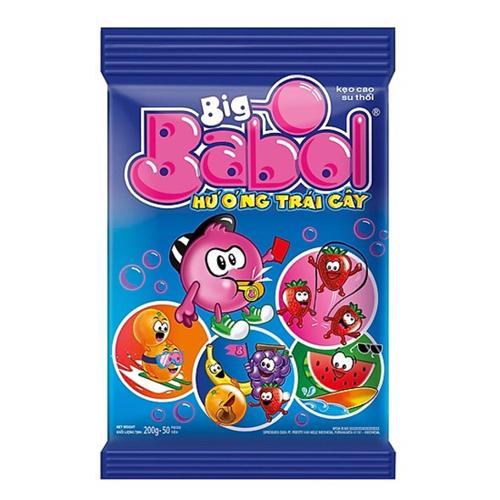 Kẹo Big babol hương trái cây 190g