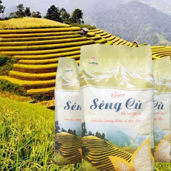 Gạo Séng cù Mường Vi 10Kg
