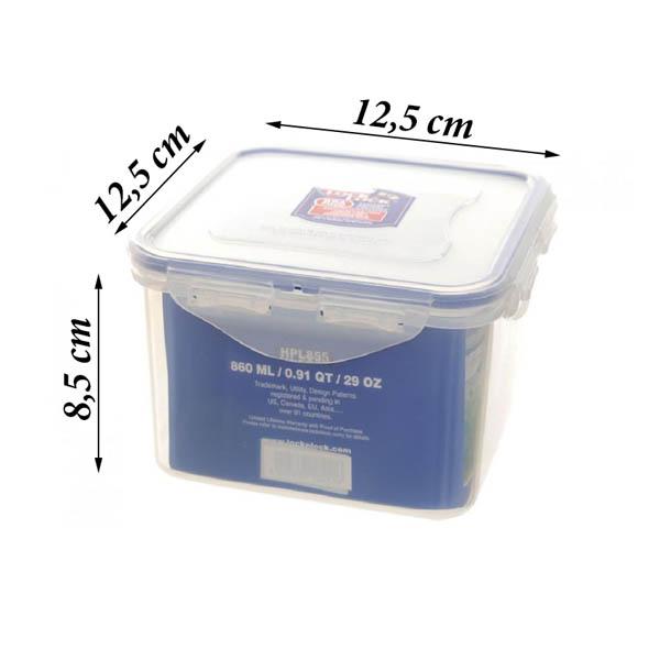 Hộp đựng TP Vuông nhựa Lock&Lock 860ml HPL855