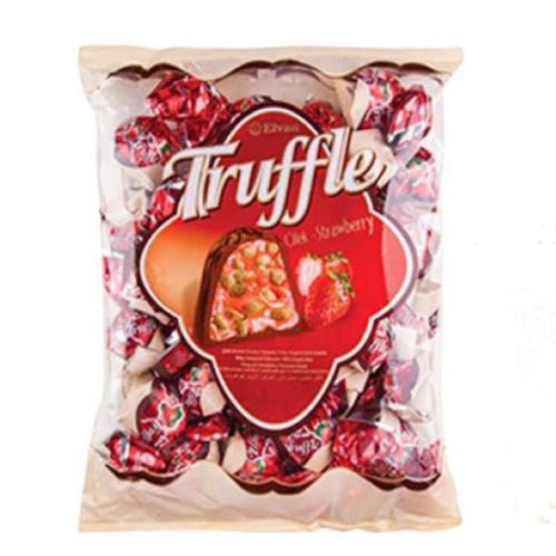 Kẹo Truffle Elvan vị dâu 500g