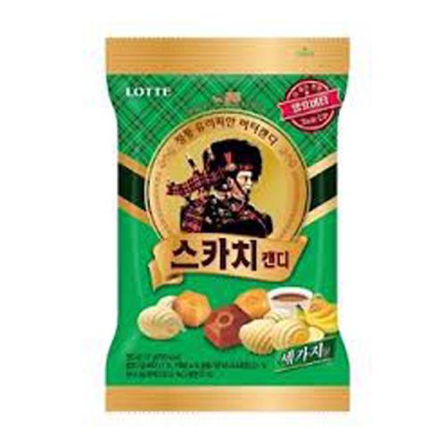 Kẹo vị cafe chuối bơ Lotte 157g