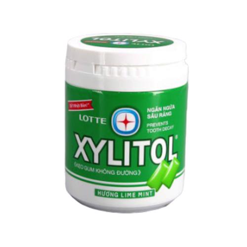 Xylitol Lime mint hũ 100 viên