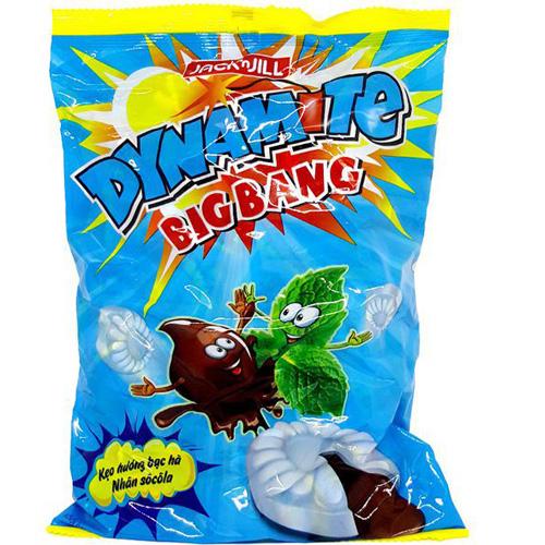Kẹo Dynamite bạc hà nhân Sôcôla 330g