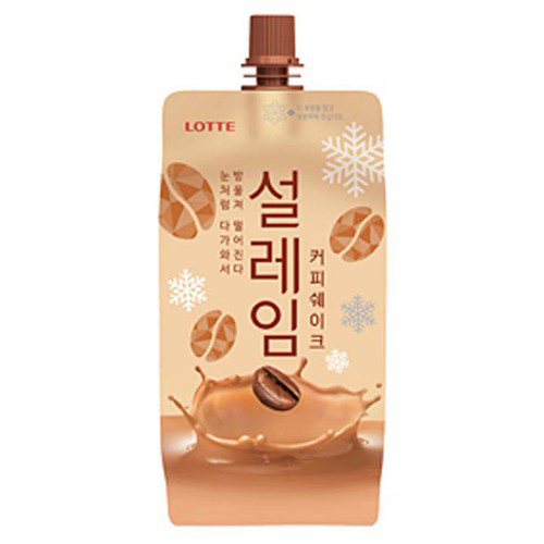 Kem túi Lotte vị cafe 160ml