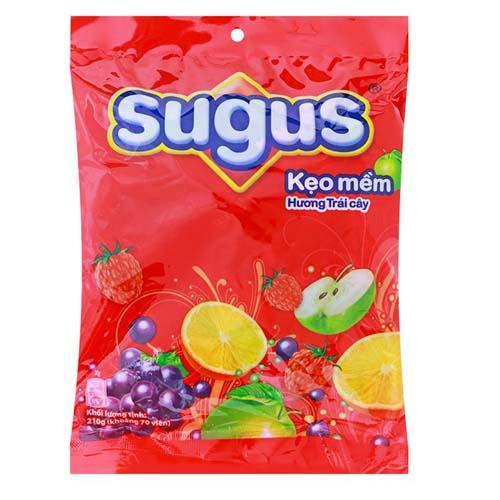 Kẹo mềm Sugus trái cây túi 1kg