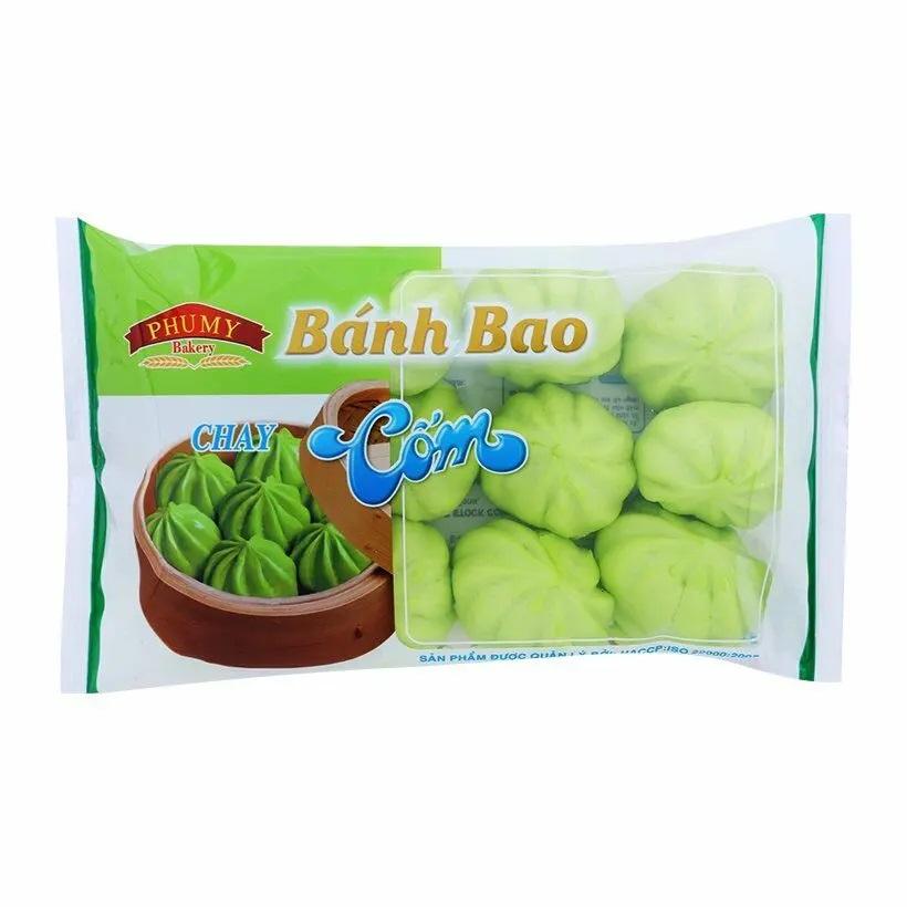 Bánh bao Phú Mỹ Cốm chay 200g