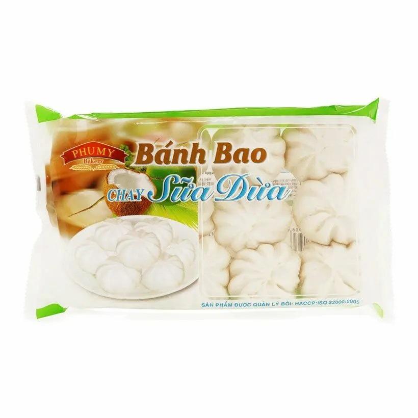 Bánh bao Phú Mỹ chay sữa dừa 200g