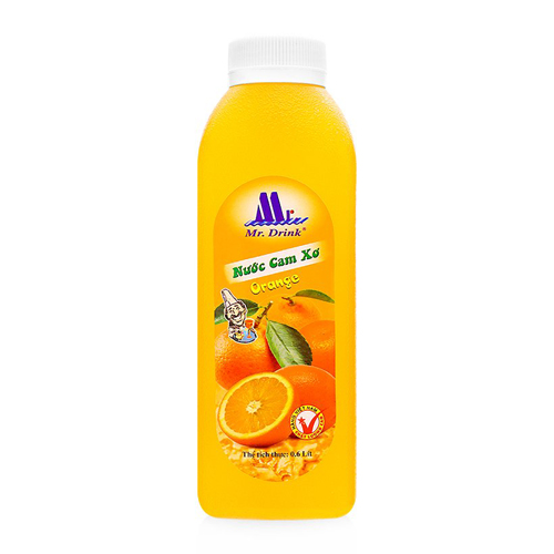 Nước cam ép Mr Drink 600ml